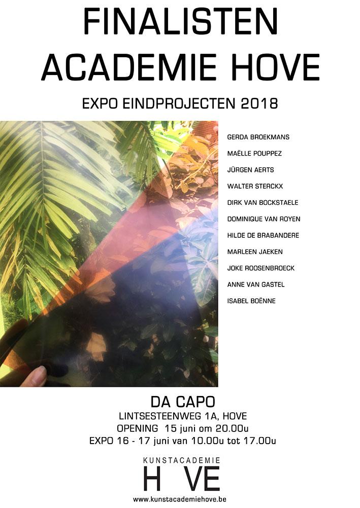 Finalisten Expo affiche Hove